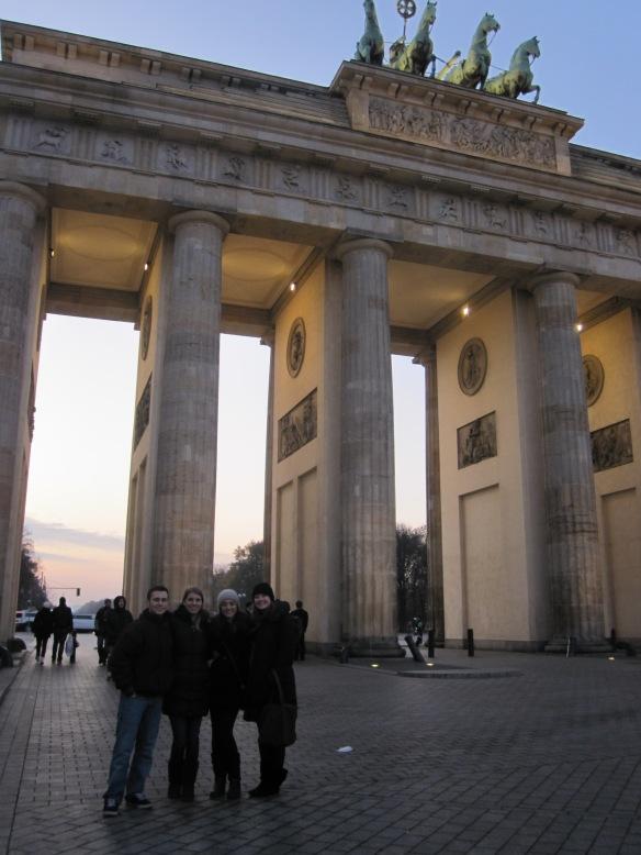 Brandenburg Tor at Dusk