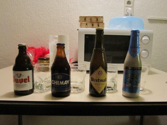 Belgium Beer Taste Test
