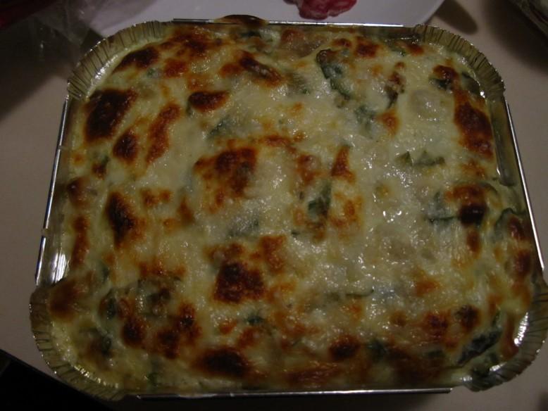 Maddie's Homemade Spinach & Artichoke Dip