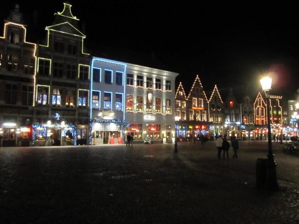 Brugge all lit up!