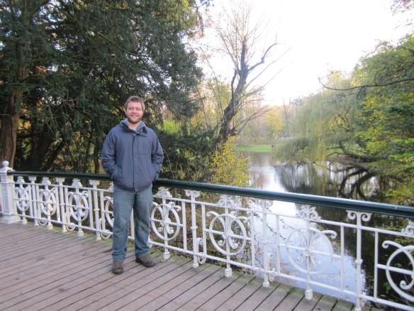 Dave in Vondelpark