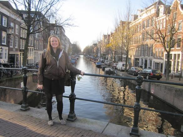 Adrian in Amsterdam