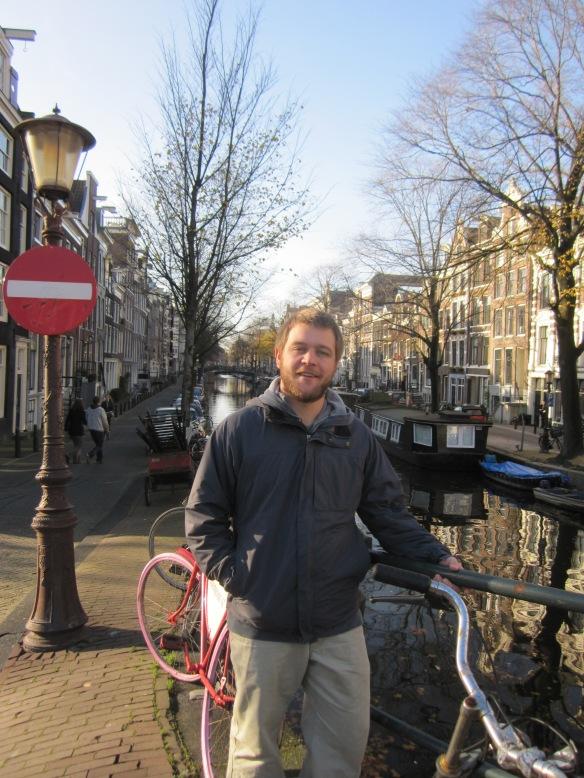 Dave in Amsterdam