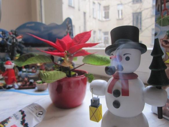 Smoking Frosty