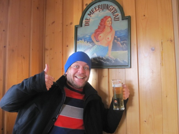 Dave likes the busty mermaid