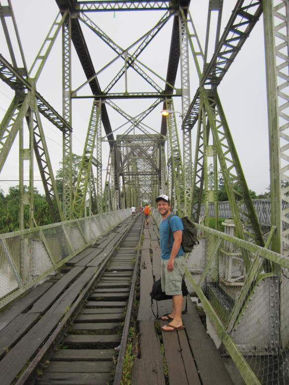 Sketchy Panama to Costa Rica Bridge