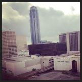 View from my room in Houston