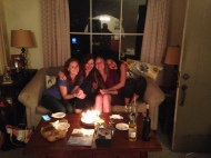 Birthday Pie and Bachelorette with my girls