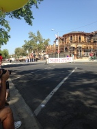 Start of the parade...