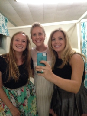 Bathroom selfie with the Bride!