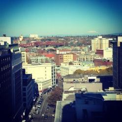 Portland Hotel View