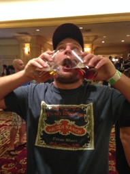 Double Fisting at Bock Fest
